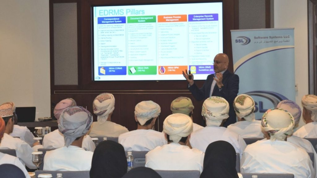 EDRMS Workshop conducted for Government entities